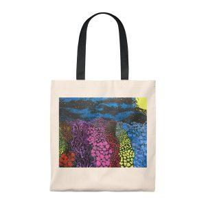 MIdnight Garden Tote Bag – Vintage