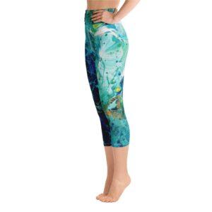 """Blue Ivy"" Yoga Capri Leggings"