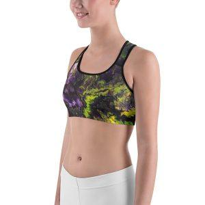 """Electric Orchid"" Sports bra"