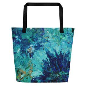 """Blue Ivy"" Beach Bag"
