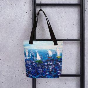 Race Day 15×15 Tote bag