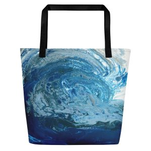 """Force of Nature"" Beach Bag"