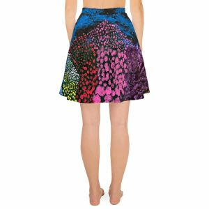Midnight Garden Skater Skirt