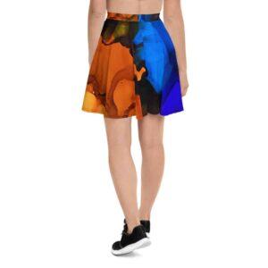 Sunset Skater Skirt